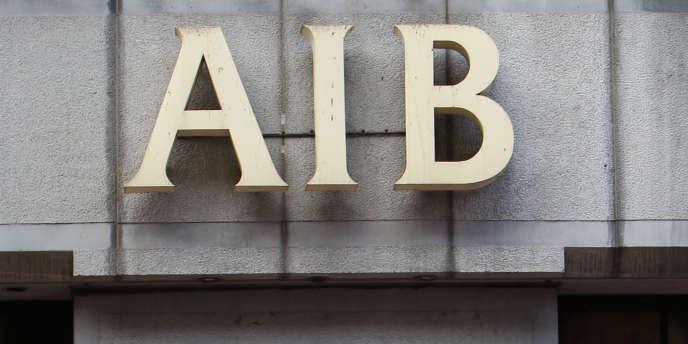 Des bureaux d'AIB à Dublin en 2010.