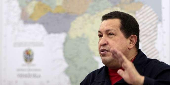 Le président vénézuélien Hugo Chavez le 24 novembre.