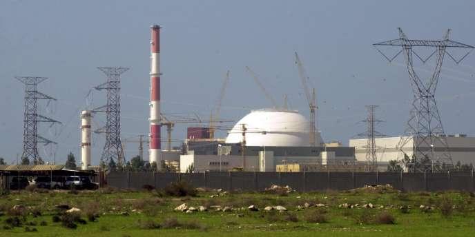 Vue du réacteur de Bouchehr en 2005.
