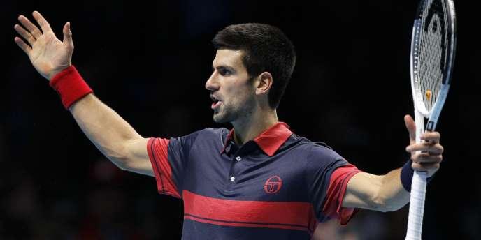 Novak Djokovic, à Londres, le 27 novembre.