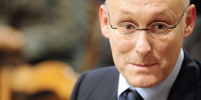 Bernard Laporte, manageur du RC toulonnais.