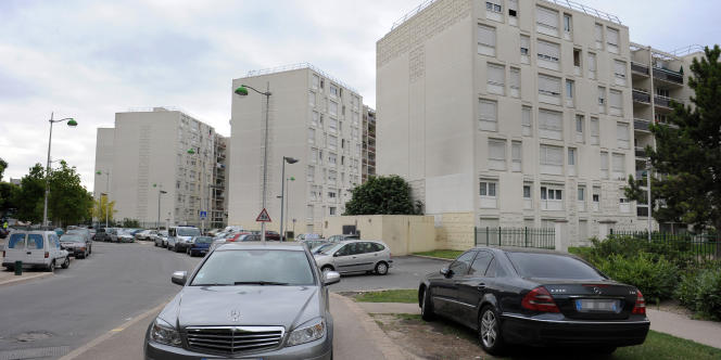 Le quartier des Beaudottes à Sevran, en juillet 2010.