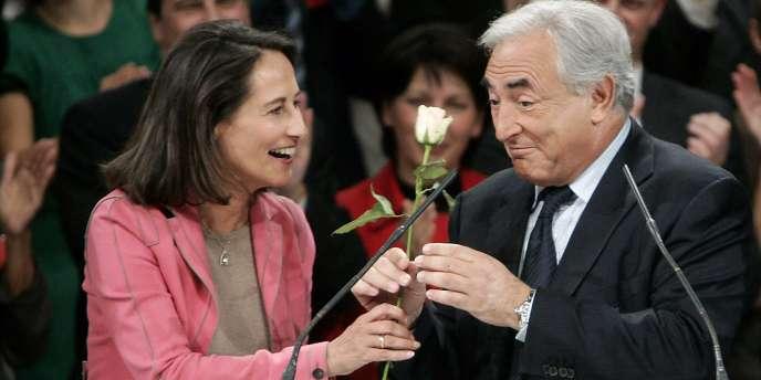 Pour Ségolène Royal, les déclarations récentes de DSK à la presse allemande montrent qu'il a décidé de ne pas se présenter.