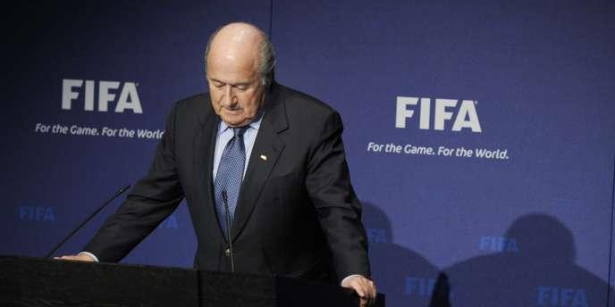 Sepp Blatter, le 19 novembre, à Zurich.