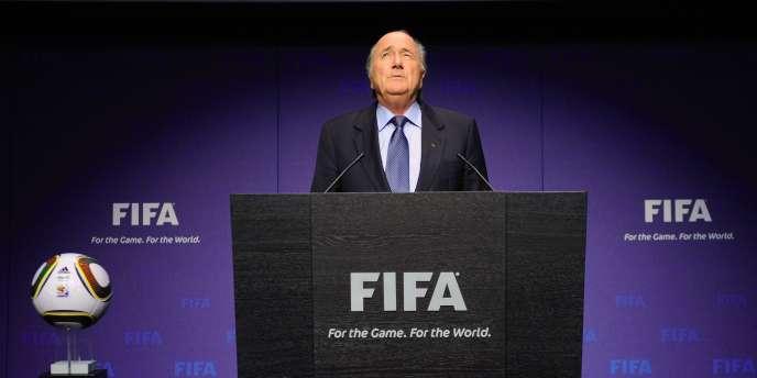 Sepp Blatter à Zurich le 19 novembre.