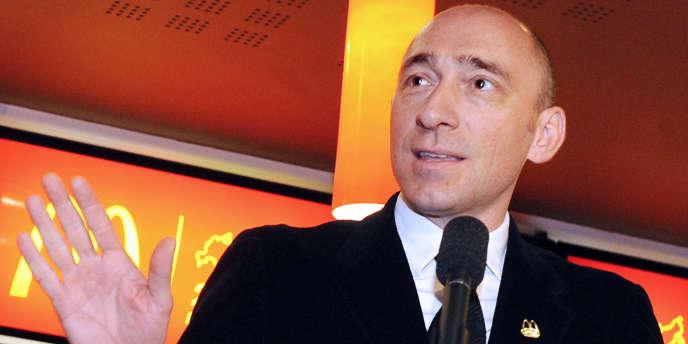 Denis Hennequin, PDG du groupe hôtelier Accor.