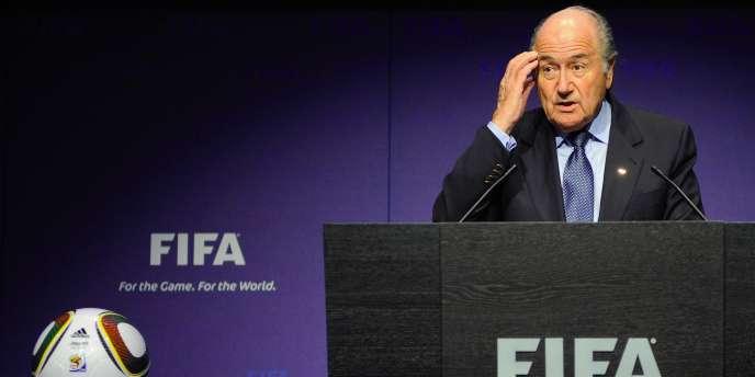 Sepp Blatter le 19 novembre à Zurich.