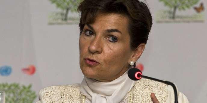 Christiana Figueres, la responsable climat des Nations unies, à Cancun, le 29 novembre 2010.