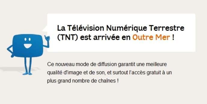 Deux ans après la métropole, la TNT arrive en outre-mer, avec un bouquet bien différent.
