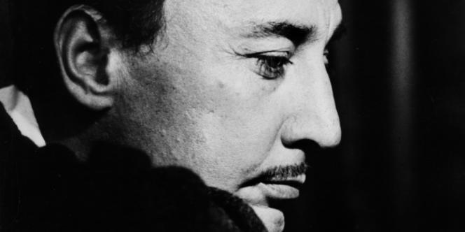 Portrait non daté du romancier Romain Gary.