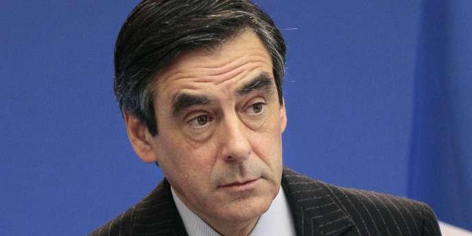François Fillon, le 26 novembre 2010, à Paris.