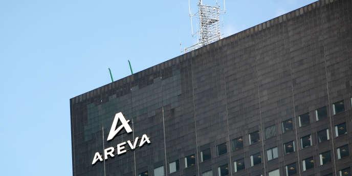 Les bureaux d'Areva à La Défense en juin 2009.