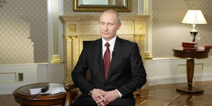 Vladimir Poutine le 30 novembre.