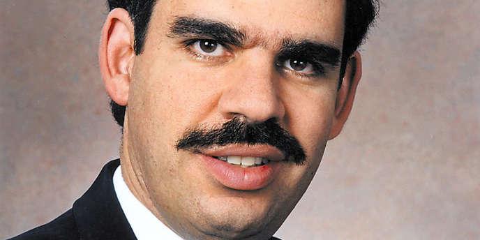 Photo de Mohamed El-Erian, le patron du fonds américain Pimco.