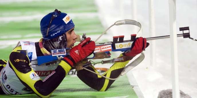 Martin Fourcade en Suède le 2 décembre.