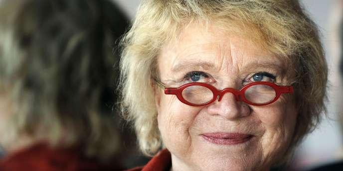 Eva Joly en novembre 2010 à Marseille.