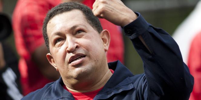 Le président Hugo Chavez en novembre 2010, à Caracas.