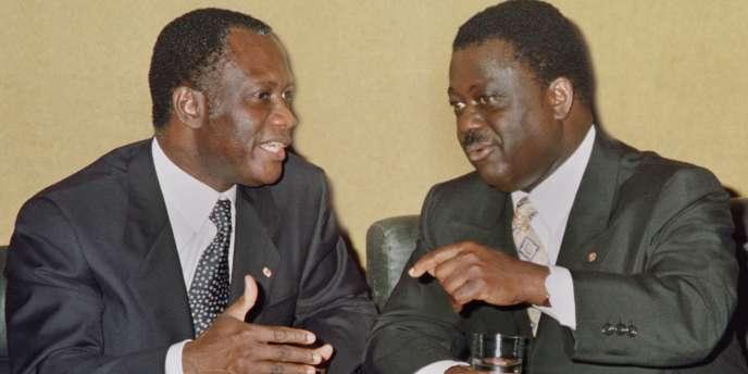 Alasane Ouattara en 1992.