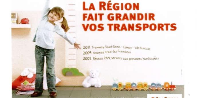 Campagne de la région Ile-de-France en 2009.