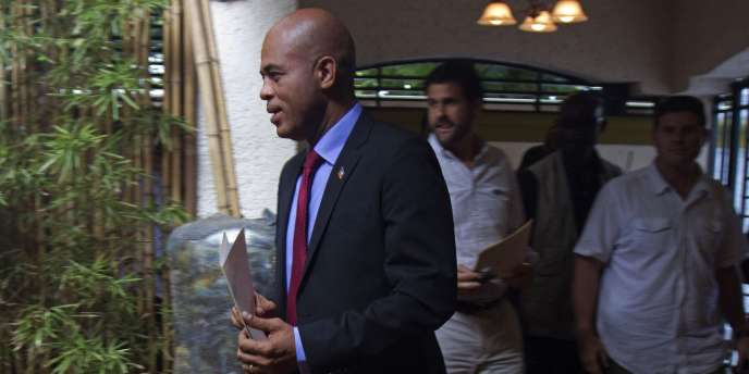 Le chanteur Michel Martelly, dit