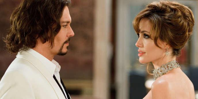 Johnny Depp et Angelina Jolie dans le film américain de Florian Henckel von Donnersmarck,