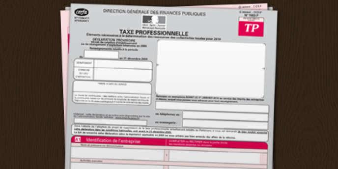 La réforme de la taxe professionnelle a eu pour résultat l'an dernier