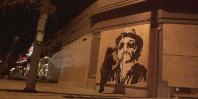 Une image du film documentaire américain de Banksy,