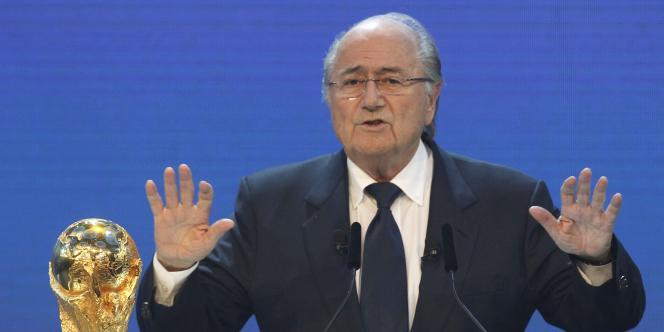 Sepp Blatter, le 2 décembre 2010, à Zurich.