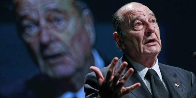 Jacques Chirac, le 7 décembre 2010, à Bruxelles.