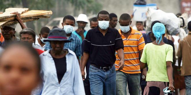 Dans les rues de Port-au-Prince, le 10 décembre.