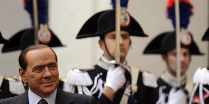 Le président du Conseil italien, Silvio Berlusconi, le 10 décembre.