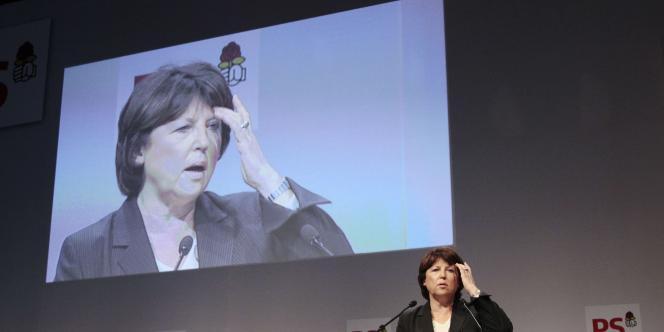 Martine Aubry, samedi 11 décembre à Paris.
