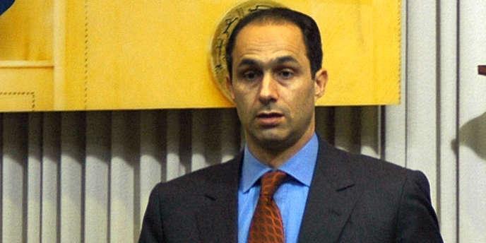 Gamal Moubarak au Caire en mars 2007.