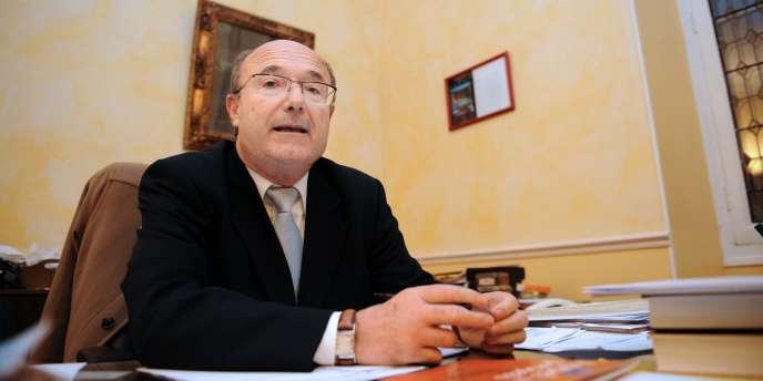 Le maire d'Orange Jacques Bompard, en 2008.