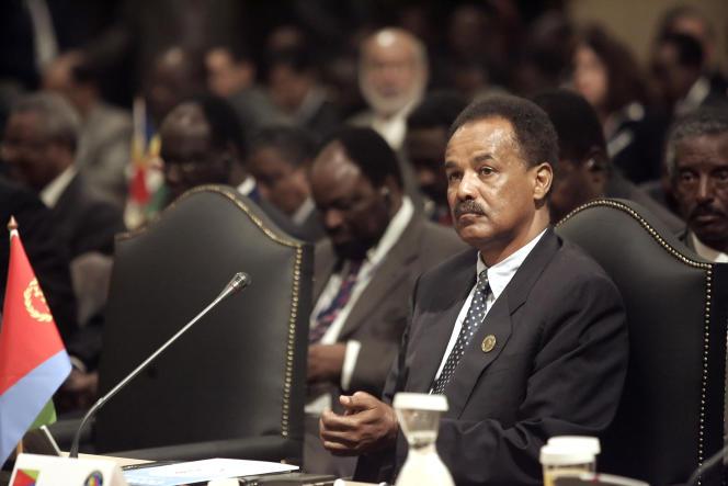 Le président Issayas Afeworki (ici en 2006) est à la tête de l'Erythrée depuis l'indépendance du pays, en 1993.