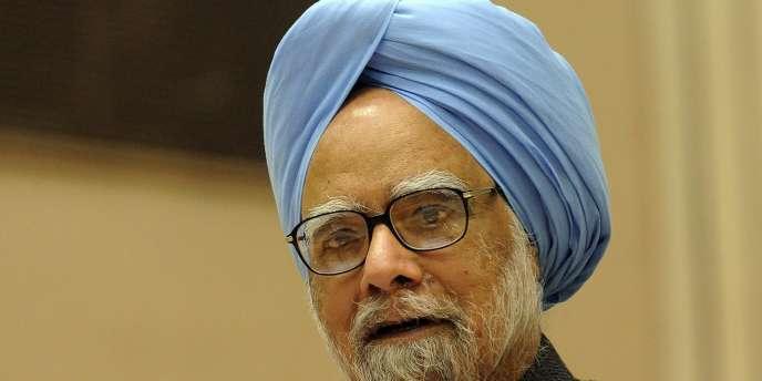 Le premier ministre indien, Manmohan Singh, en 2010.