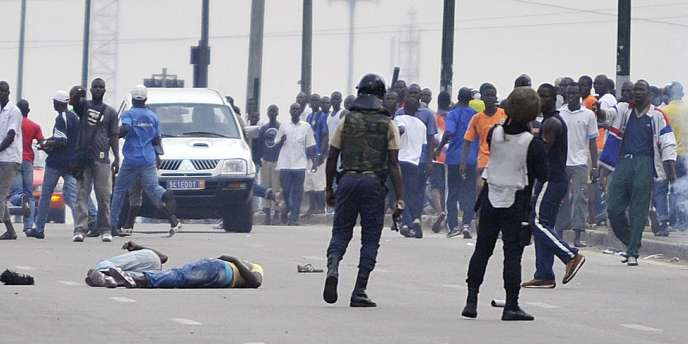 Jeudi matin, à Abidjan.
