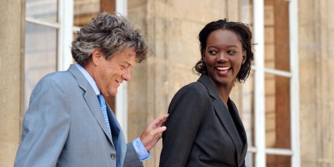 Rama Yade a annoncé son départ de l'UMP par solidarité avec Jean-Louis Borloo.