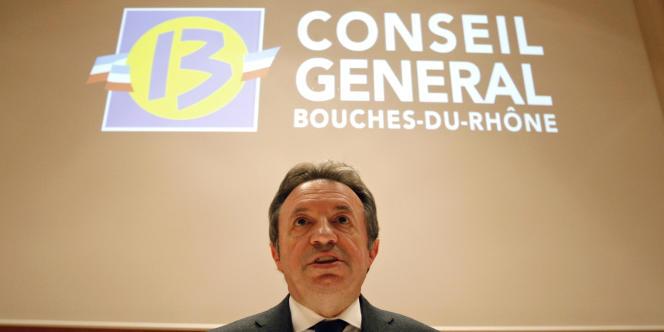 Jean-Noël Guérini était convoqué dans le cadre de l'enquête sur des marchés publics présumés frauduleux lundi 3 juin.