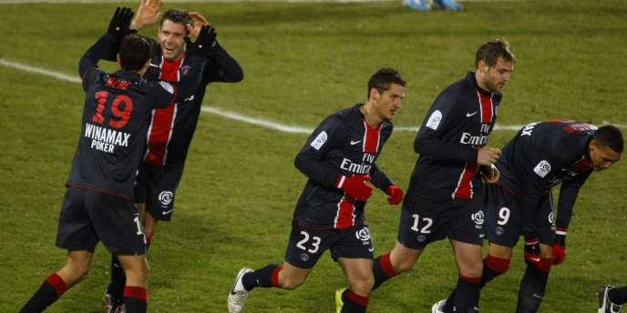 Le PSG vainqueur 2-1 à Valenciennes le 11 décembre.