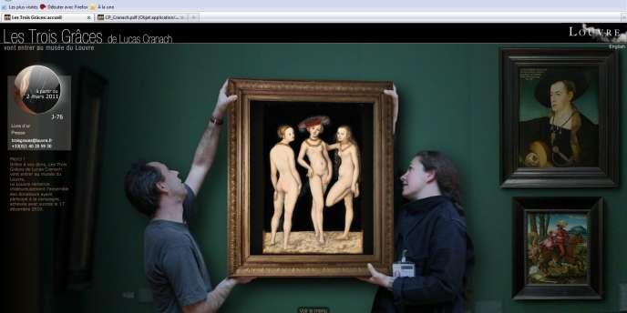 Le Louvre a lancé un site Internet pour récolter les dons du public et présenter