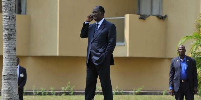 Alassane Ouattara, le 8 décembre 2010.