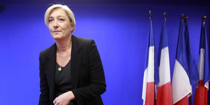 Marine Le Pen, le 13 décembre 2010.