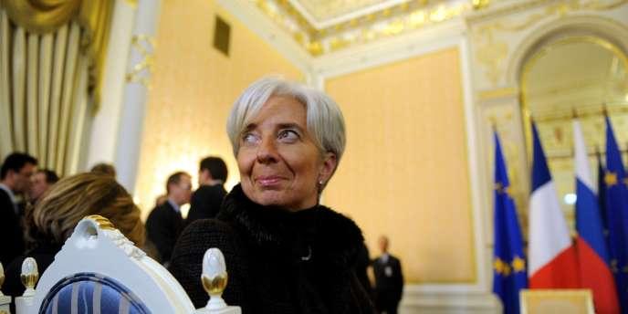 Pour Christine Lagarde, c'est avant tout aux 16 pays de la zone euro de coordonner la politique économique de l'Union européenne.