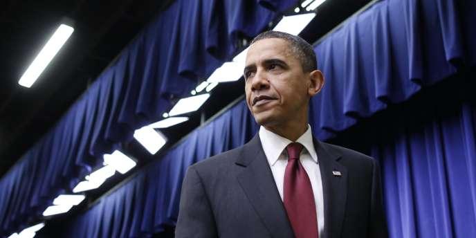 Barack Obama le 17 décembre à Washington.