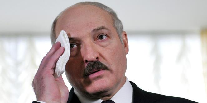 Alexandre Loukachenko, en décembre 2010.