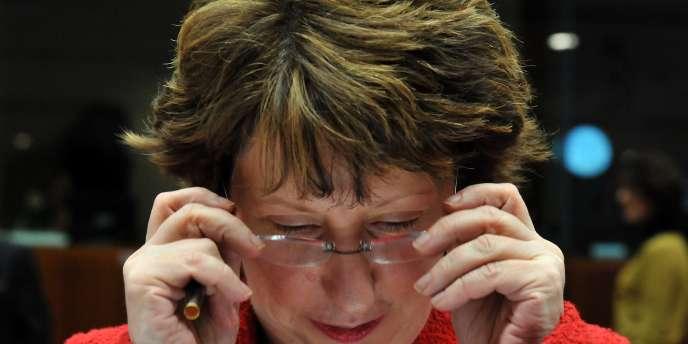 Catherine Ashton, Haute représentante de l'Union européenne pour les affaires étrangères, le 13 décembre.