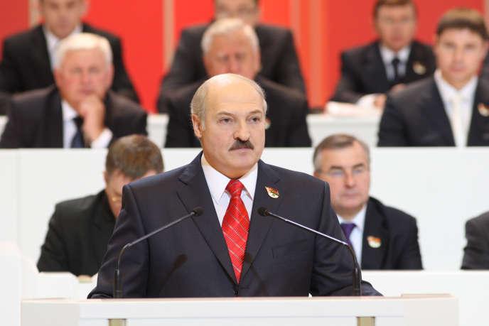 Alexandre Loukachenko, ancien directeur de kolkhoze, est au pouvoir en Biélorussie depuis 2004.