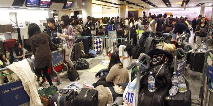 Le terminal 3 de l'aéroport d'Heathrow, le 19 décembre.