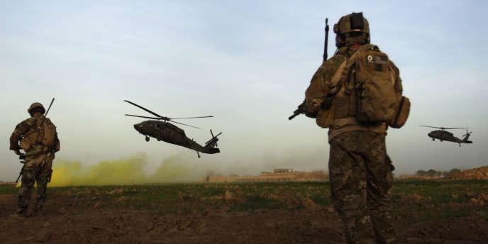 Membres des forces spéciales américaines en Afghanistan, en février 2010.